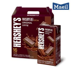허쉬드링크 초콜릿 190ml 16팩 선물세트