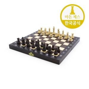 스쿨 체스 폴란드 수제 원목 27cm 휴대용 아동용 선물