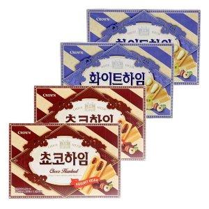 2+2 초코하임+화이트하임 142g 과자 초콜릿 간식