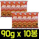 매콤달콤 바게트 90gx10봉 과자/스낵/간식안주/새우깡