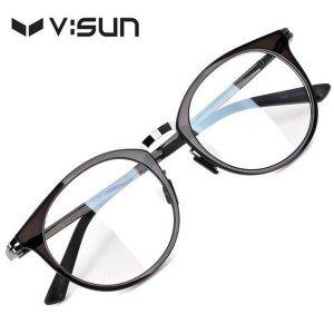 브이선 명품 뿔테 울템 와그너 안경테 VSFL03-08 48  / V:SUN