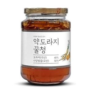 이고장식품 약도라지꿀청 500g 도라지차 국내산