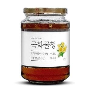 이고장식품 국화꿀청 500g 국화차 국내산