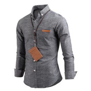 남자 프라임 버튼다운 캐주얼 남성 셔츠 남방 sh2292