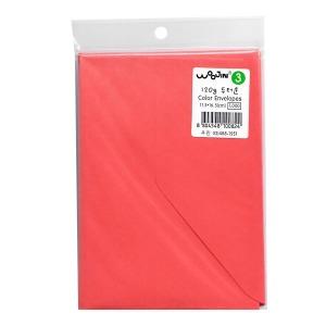 컬러봉투 3호 8매 빨간색 돈봉투 명절봉투 용돈봉투