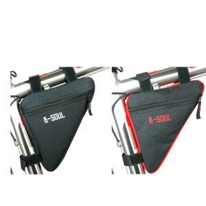 B-SOUL자전거 삼각가방/자전거프레임가방 안장가방