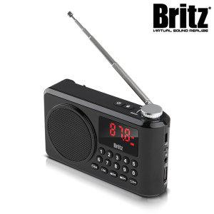 BZ-LV990 휴대용 FM라디오 블루투스 스피커 (블랙)