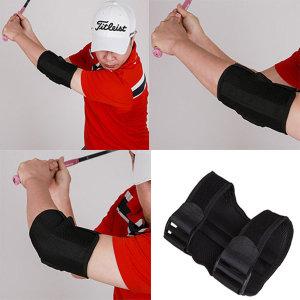골프스윙교정기 소리나는 팔꿈치교정기 골프똑딱이