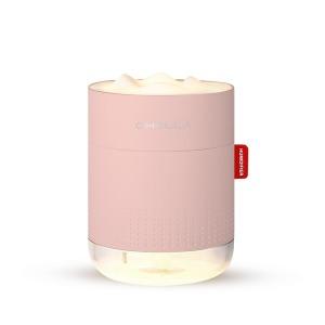 ABKO 오엘라 무선 무드등 미니 가습기 OHU-AW450 핑크