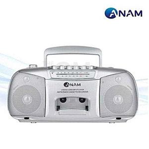 아남 PA-711_카세트 플레이어/USB/SD/FM/AM/라디오/