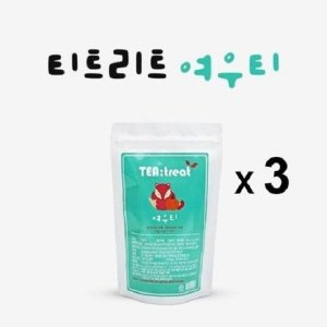 티트리트  여우티 3팩 특별기획가 / 60티백 무료배송