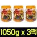 (무배)쥬시 초이스 과일맛 젤리 1050g x 3팩/하리보