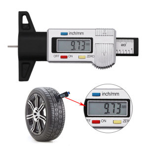 타이어 깊이 게이지 타이어 마모 측정기 트레드 두께