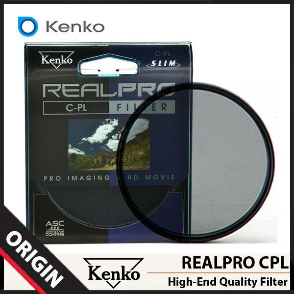 겐코 Kenko REALPRO CPL 필터 55mm/슬림필터/렌즈필터