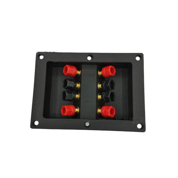 사각바나나컵 8핀 단자 우퍼박스 매립 터미널 커넥터