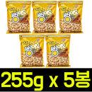 (무배) 허니 뻥이요 255gx5봉 과자스낵간식브이콘팝콘