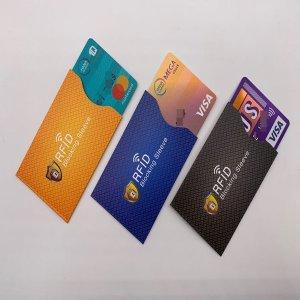 RFID 신용 카드 홀더 슬리브 커버 여행용품 해킹방지