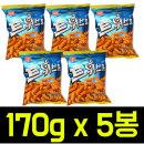(무배)트위스트 170g x 5봉/꿀꽈배기/맛동산/바나나킥