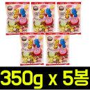 (무배)롤앤롤 소프트캔디 350g x 5봉/투시팝/츄파춥스