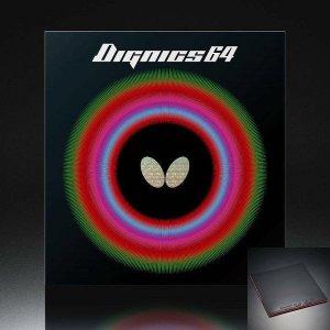 탁구러버 디그닉스64 블랙 2.1mm