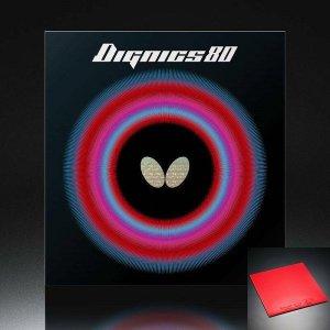 탁구러버 디그닉스80 레드 2.1mm