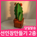 민화샵 선인장 나무 만들기 재료 만들기키트 팬시우드
