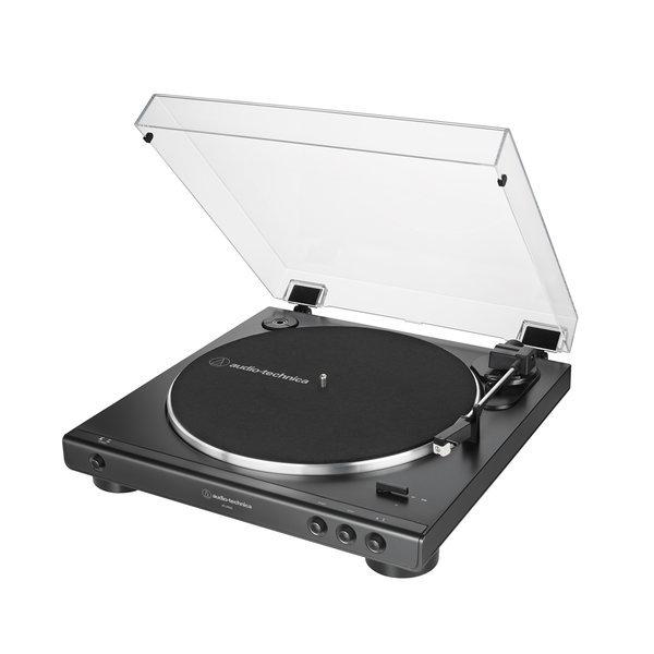 AT-LP60X 완전 자동 벨트 드라이브 턴테이블 블랙