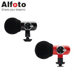 Alfoto 올포토 카메라 스마트폰용 마이크 Q-Mic