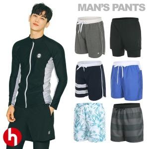 남성 래쉬가드팬츠 보드숏 비치웨어 수영복 반바지