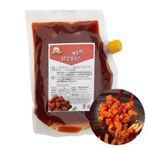푸드드림 매운맛 닭강정소스1kg 치킨양념(아이스포장)