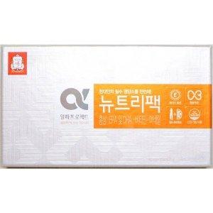 뉴트리팩 600mg 120캡슐 홍삼 오메가3 비타민 미네랄