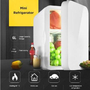6L 12L 미니 차량용 냉온장고 가정용겸용 캠핑냉장고