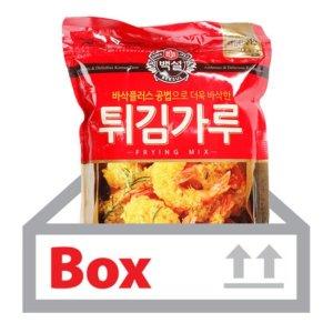 바삭한튀김가루 1kg 10ea(박스)/백설-식당용 업소용