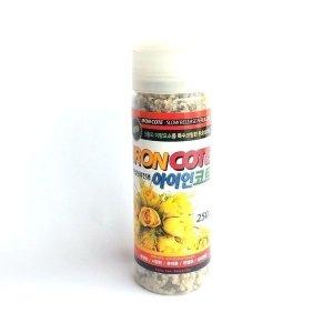 아이언코트 250g 미량요소복합비료 화분비료 식물영양
