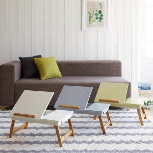파스텔 노트북 테이블 접이식테이블 침대테이블 책상