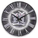 앤틱부엉이R 벽시계 실버 인테리어 벽걸이시계 (특가)