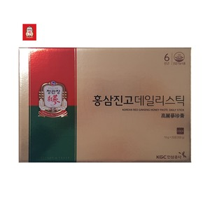 정관장 홍삼진고 데일리스틱 10gx20포 면역력 쇼핑백