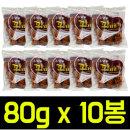 추억의 꽈배기 80gx10봉 과자/간식/오란다/강정/전병