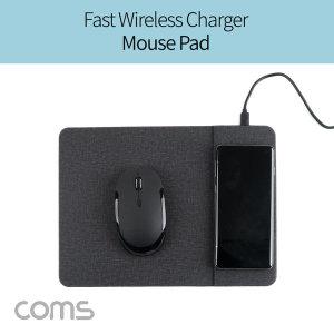 스마트폰 무선 고속 충전 마우스 패드/QC 3.0 퀵차지