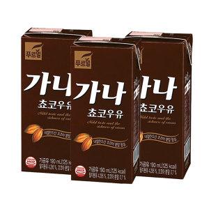 가나초코우유 190ml 24팩 /멸균우유