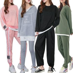 벤티브 여성 트레이닝세트S~4XL 운동복 츄리닝 기모