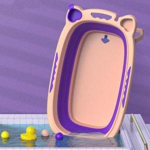 접이식 아기욕조 유아욕조 물놀이 목욕 인기MZ03