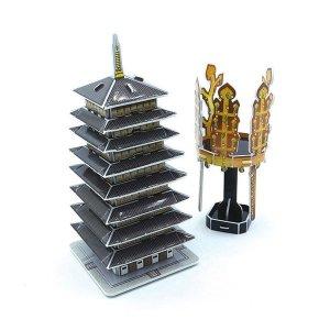 3D 입체퍼즐 신라금관과 황룡사구층목탑/모형 조립