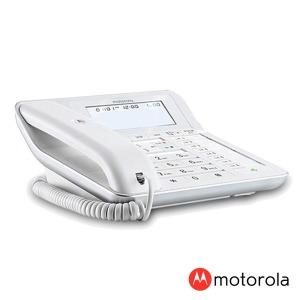 모토로라 유선 전화기 C7201R 화이트