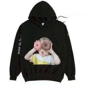 ADLV BABY FACE HOODIE BLACK 베이비 페이스 후드