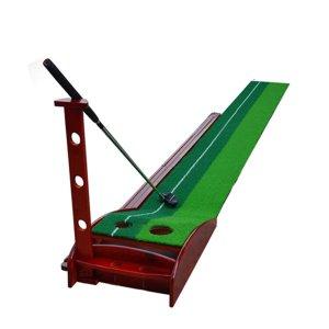 골프퍼팅연습기 하이브리드 리턴퍼터연습 숏게임연습기