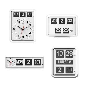 TWEMCO 트웸코플립시계16종 벽시계 알람시계 달력시계