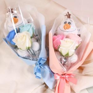 올라프 인형 미니 꽃다발 겨울왕국2 학예회 재롱잔치