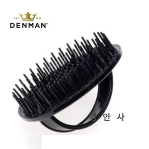 덴맨 젠틀 마사지브러쉬 D6 샴푸 브러쉬-블랙(검정)색
