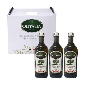 올리타리아 명절선물 올리브오일 포도씨유 1LX3P 세트